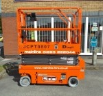 5.8m Narrow Scissor Lift (0807DC) S685