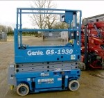 5.79m Indoor Narrow Scissor Lift (GS1930) S686
