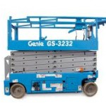 9.75m Electric Scissor Lift (GS3232) S722