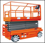 12m Omni Drive Self-Propelled Scissor Lift (JCPT1213OD)